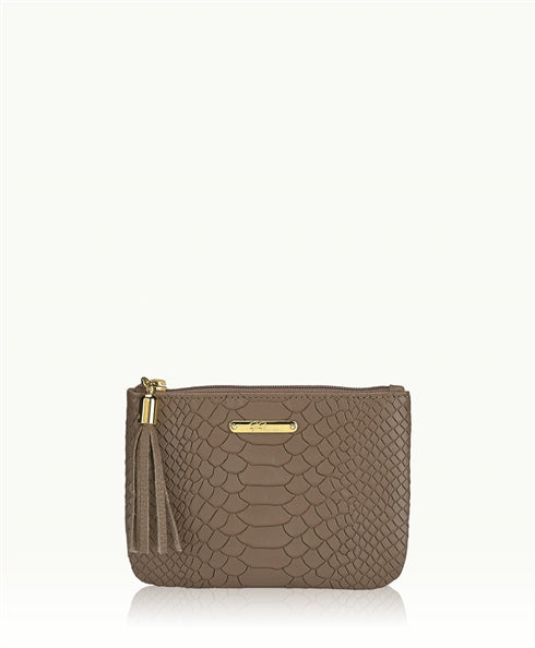GiGi New York Sleek, petite pouch, perfect luxury for your day and evening essentials - Ship Chic