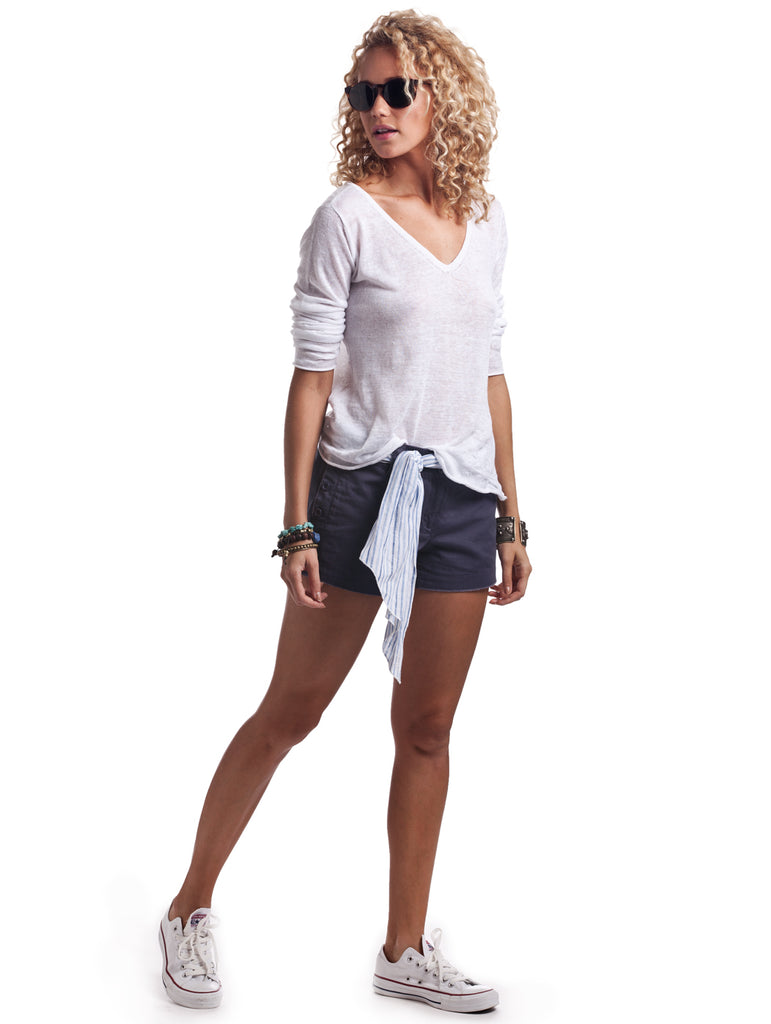 Island Company Naval Relaxed Forever Shorts - Ship Chic