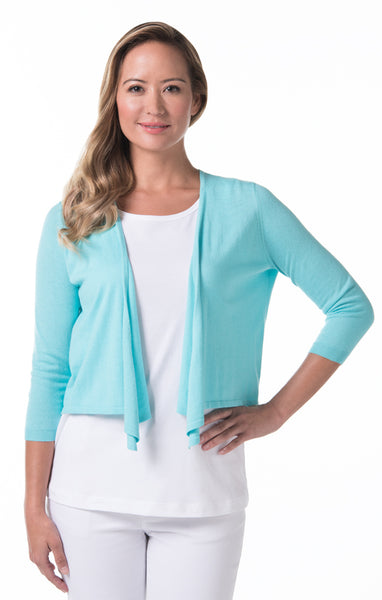 Island Toppers Paula Sweater - Turquoise