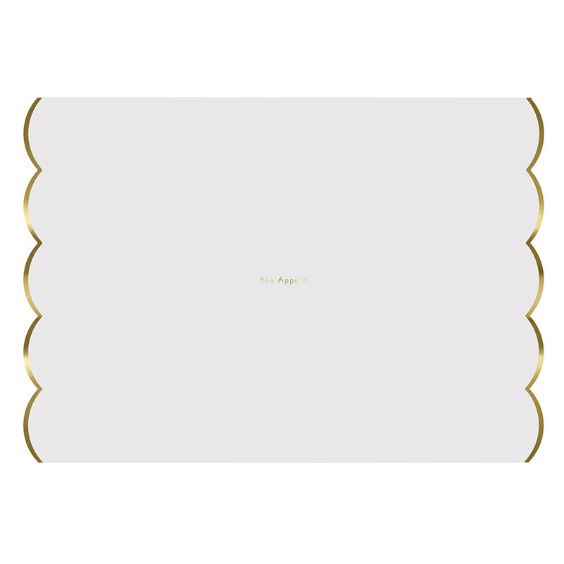 Meri Meri Gold Foiled Placemats - Ship Chic