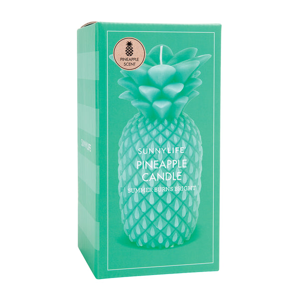 Sunnylife Pineapple Candle L - Green - Ship Chic