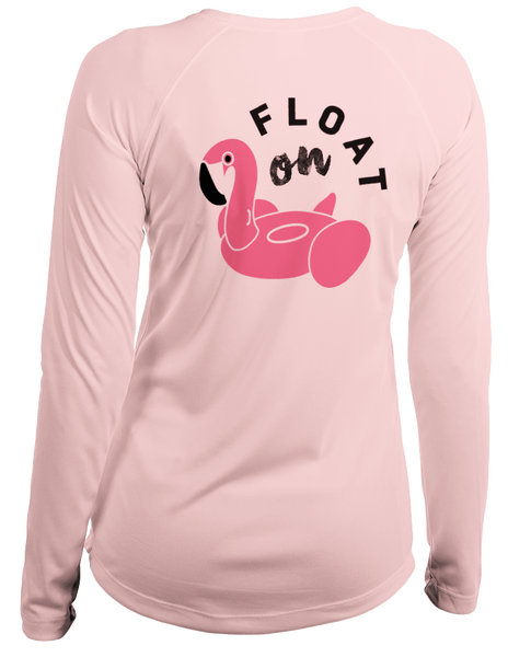 Ship Chic Ladies Float On L/S - Performance Pink - Ship Chic