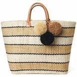 Mar Y Sol Capri Striped Basket - Ship Chic