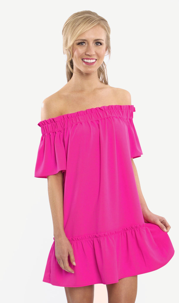 CROSBY by Mollie Burch Natalia Dress in Mollie Pink - Ship Chic