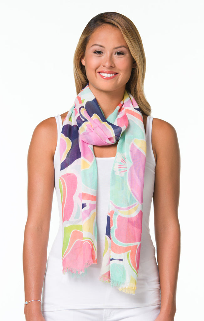 Tori Richard Abstraction S Scarf - Ship Chic