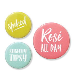 Betsywhite, LLC Cocktail Lover: Pin-Back Buttons - Ship Chic