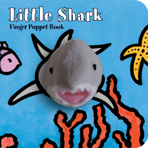Hachette Book Group Finger Puppet Book Little Shark - Ship Chic