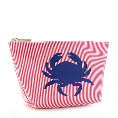 Lolo Red Stripe Medium Avery with Navy Crab - Ship Chic