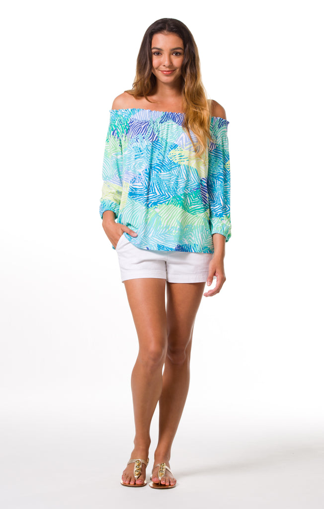 Tori Richard Something's Fishy Keely Top - Ship Chic