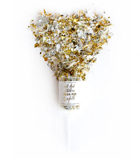 All That Glitters Push-pop Confetti