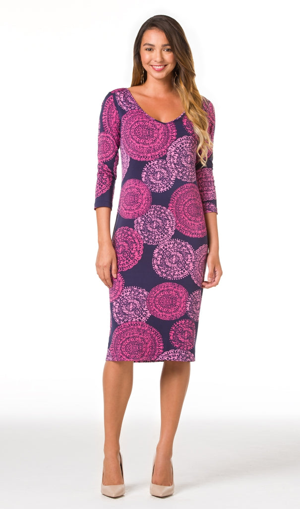 Tori Richard Cosmosis Susie Dress - Ship Chic