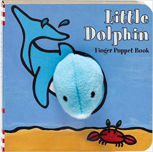 Hachette Book Group Finger Puppet Book Little Dolphin - Ship Chic