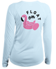 Ladies Float On L/S - Performance Artic Ice