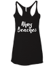 Ship Chic Ahoy Beaches Tank - Vintage Black - Ship Chic