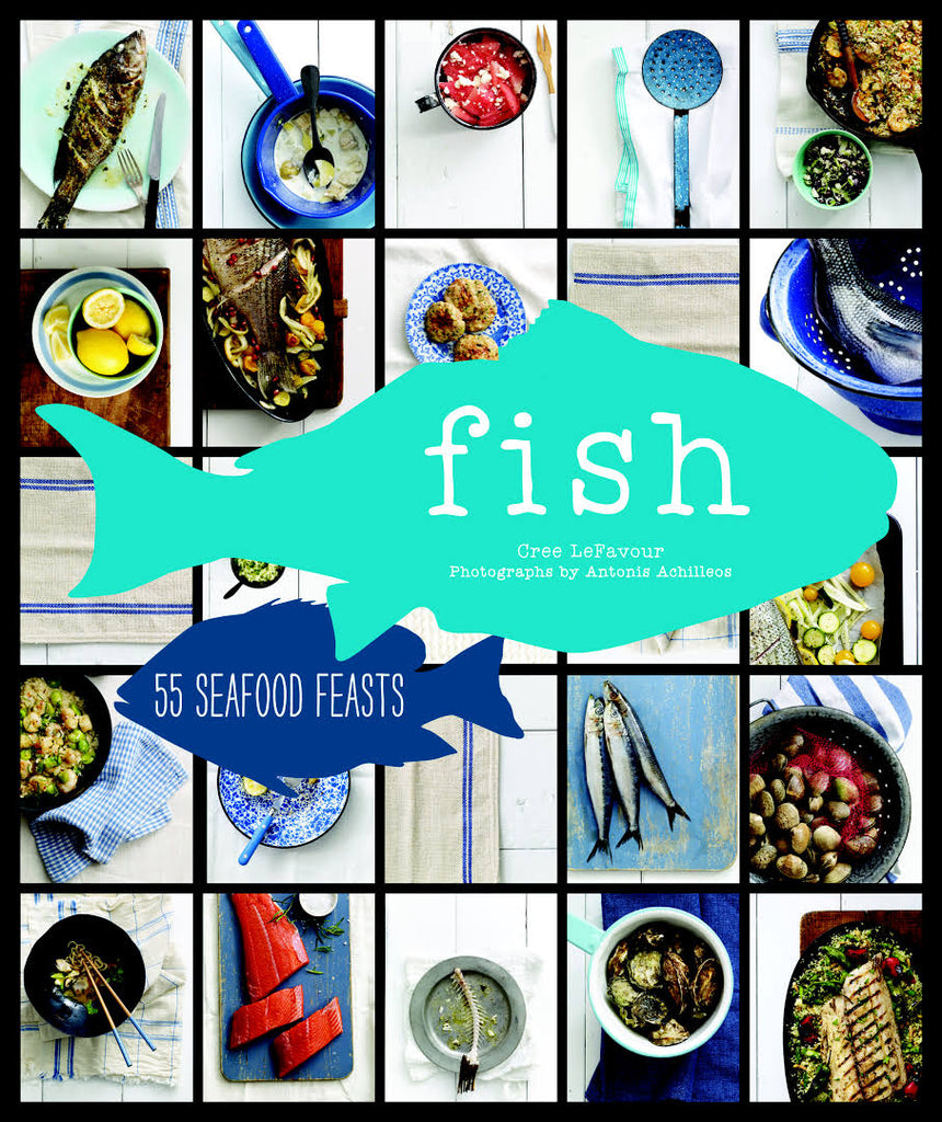 Chronicle Books Fish: 54 Seafood Feasts - Ship Chic