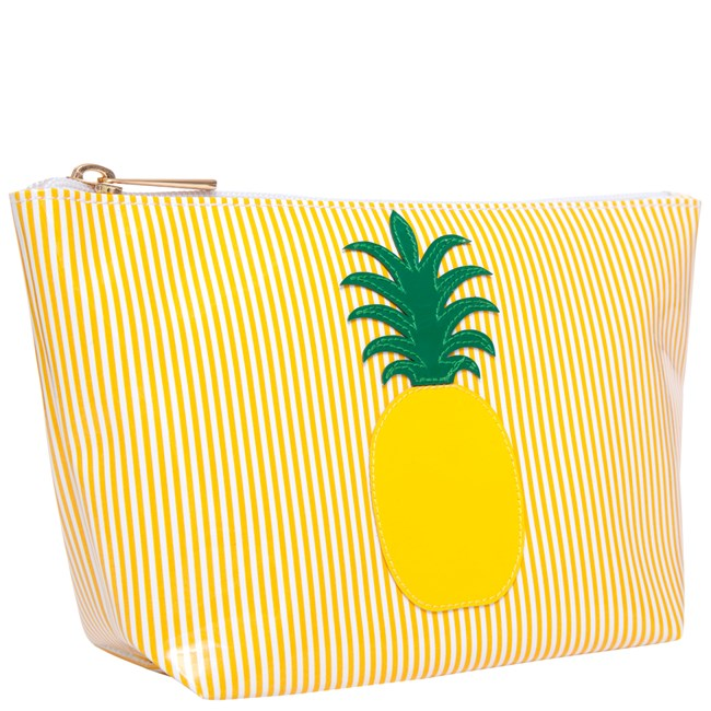 Lolo Yellow Stripe Medium Avery with Yellow Pineapple - Ship Chic