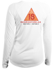 Ladies Red Right Relax L/S - Performance White