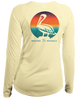Ladies Sunset Pelican - L/S Performance Yellow