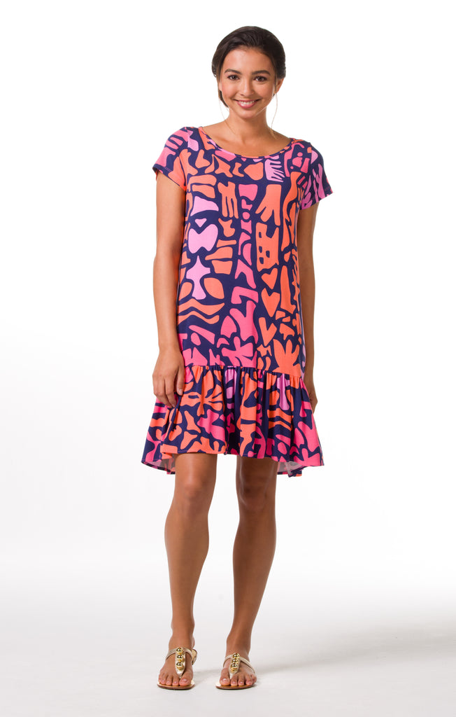 Tori Richard Giraffic Park Edna Dress - Ship Chic