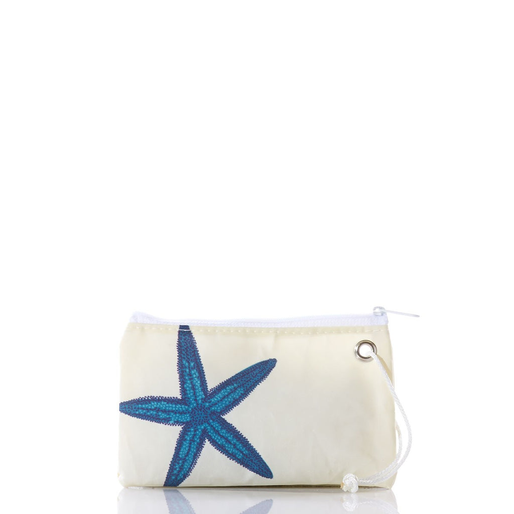 Seabags Blue Starfish Wristlet - Ship Chic