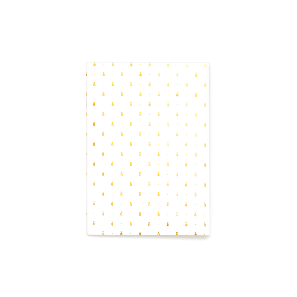 Emily Ley Gold Pineapple Mini Notebook - Ship Chic