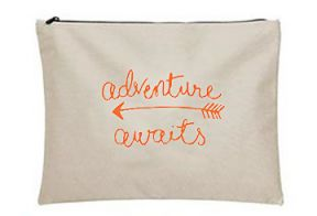 Dewdrop Designs Adventure Awaits Pouch - Ship Chic