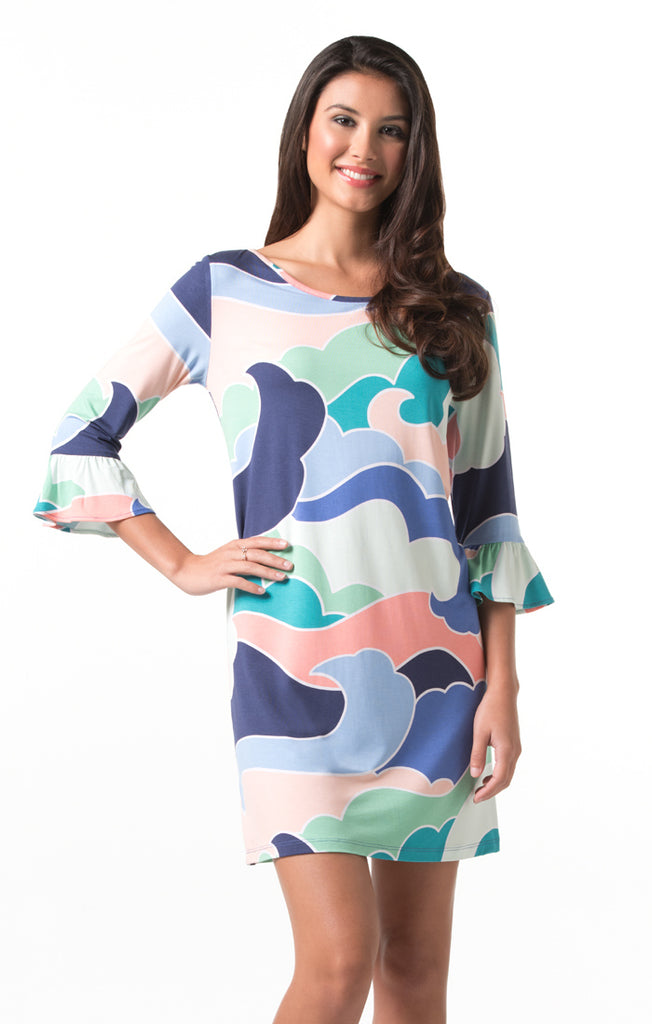 Tori Richard Wavy Gravy Linden Dress - Ship Chic