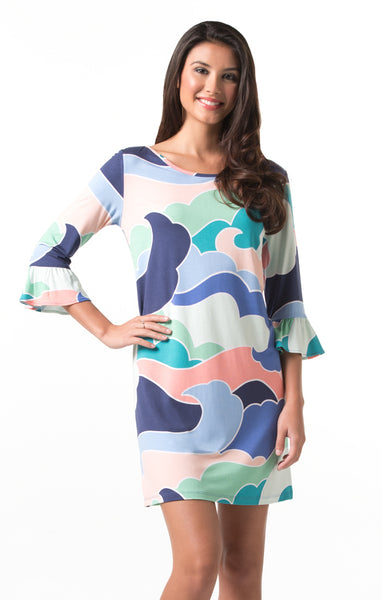 Wavy Gravy Linden Dress