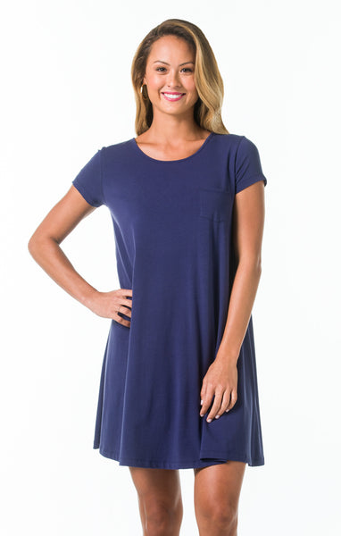 Pima Knits Kennedy Dress