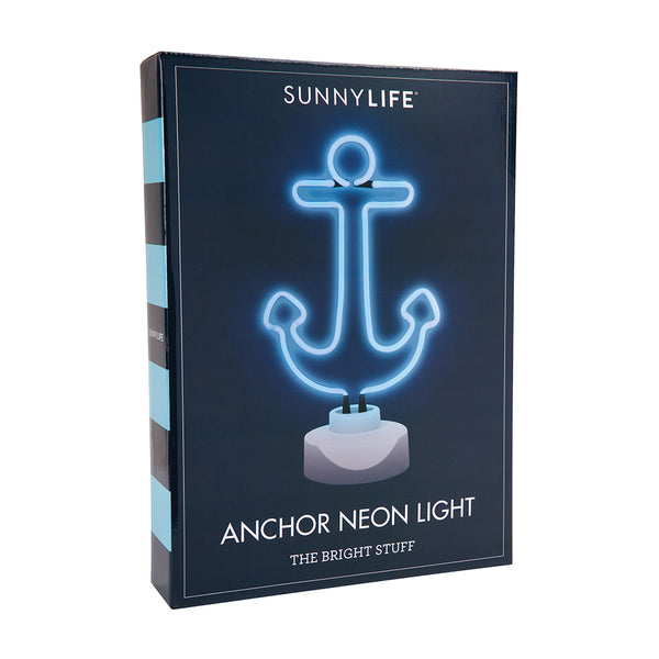 Sunnylife Anchor Neon Light Large - Ship Chic
