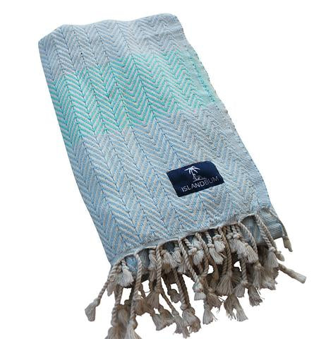 Island Bum Luxe Zig Zag Turkish Towel - Ship Chic