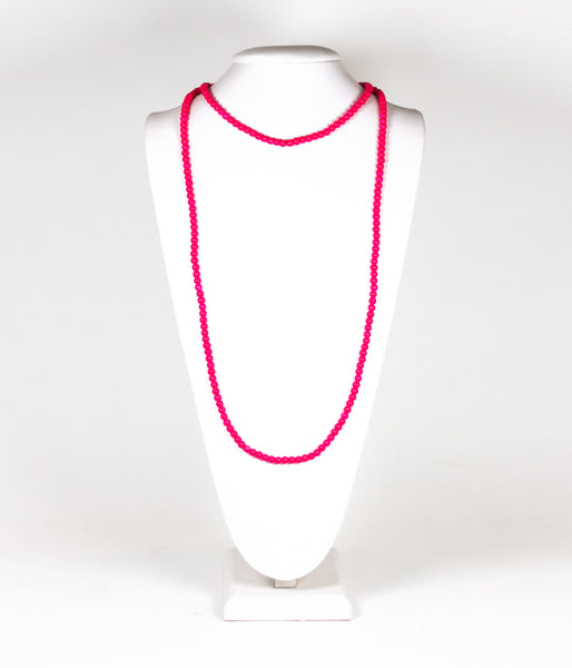 Riley Necklace - Miss Pink
