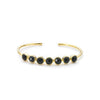 Margaret Elizabeth Rimini Bangle Black Onyx - Ship Chic