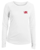 Boaters Republic Ladies Florida Pelican - L/S Performance White - Ship Chic