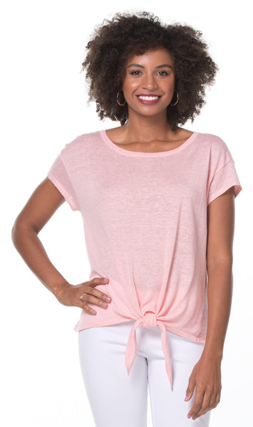 Santorini Knit Cara Top - Quartz
