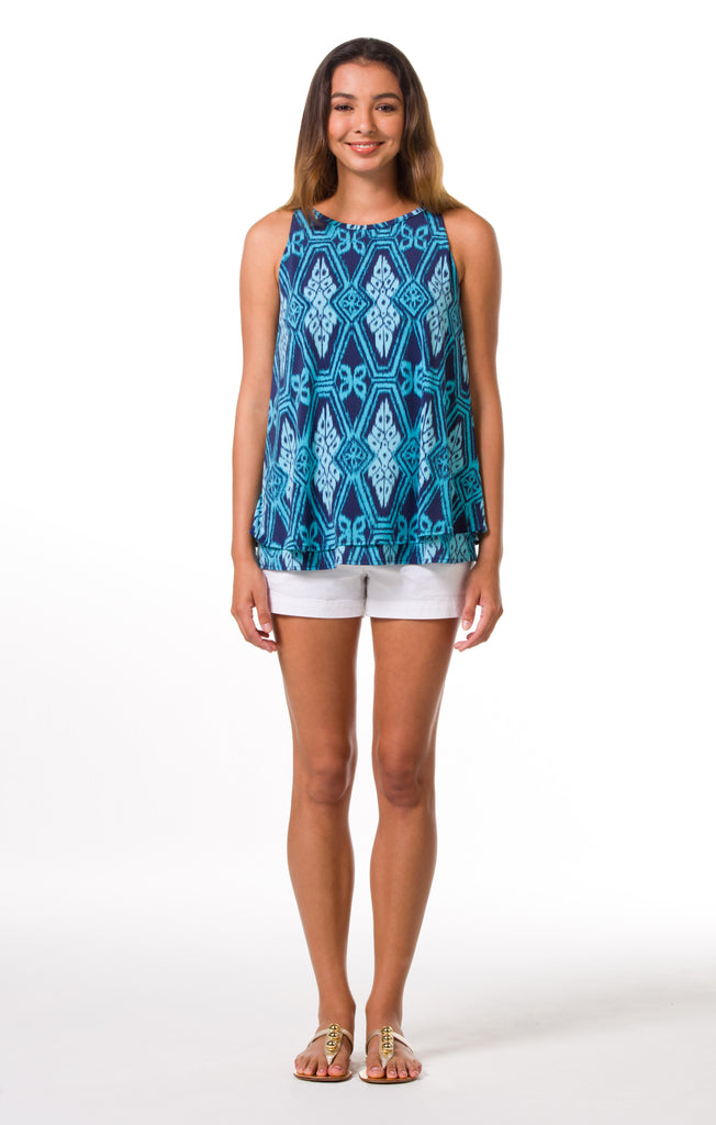 Tori Richard Diamond Head Deane Top - Ship Chic