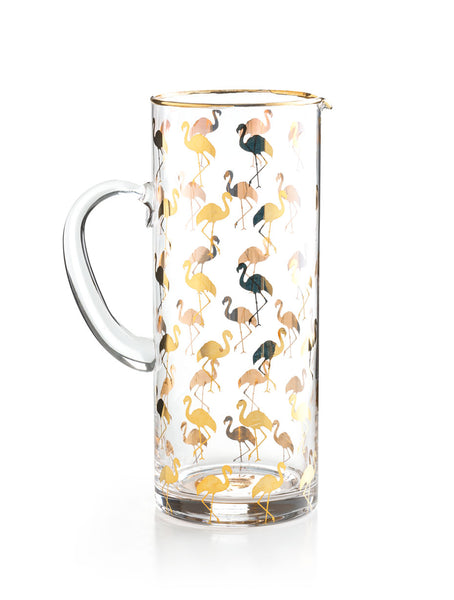 Rosanna Flamingo Patio Party Pitcher - Ship Chic