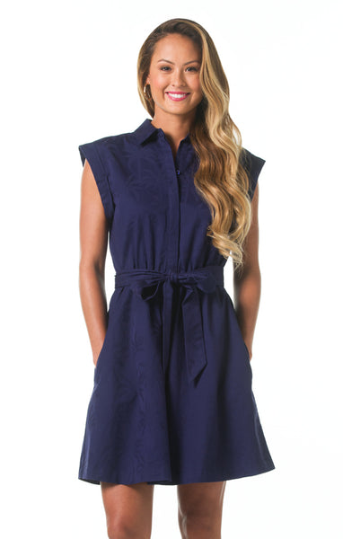 Slim Shady Jodie Dress - Navy