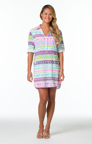 Tori Richard Jungle Road Gidget Dress - Ship Chic