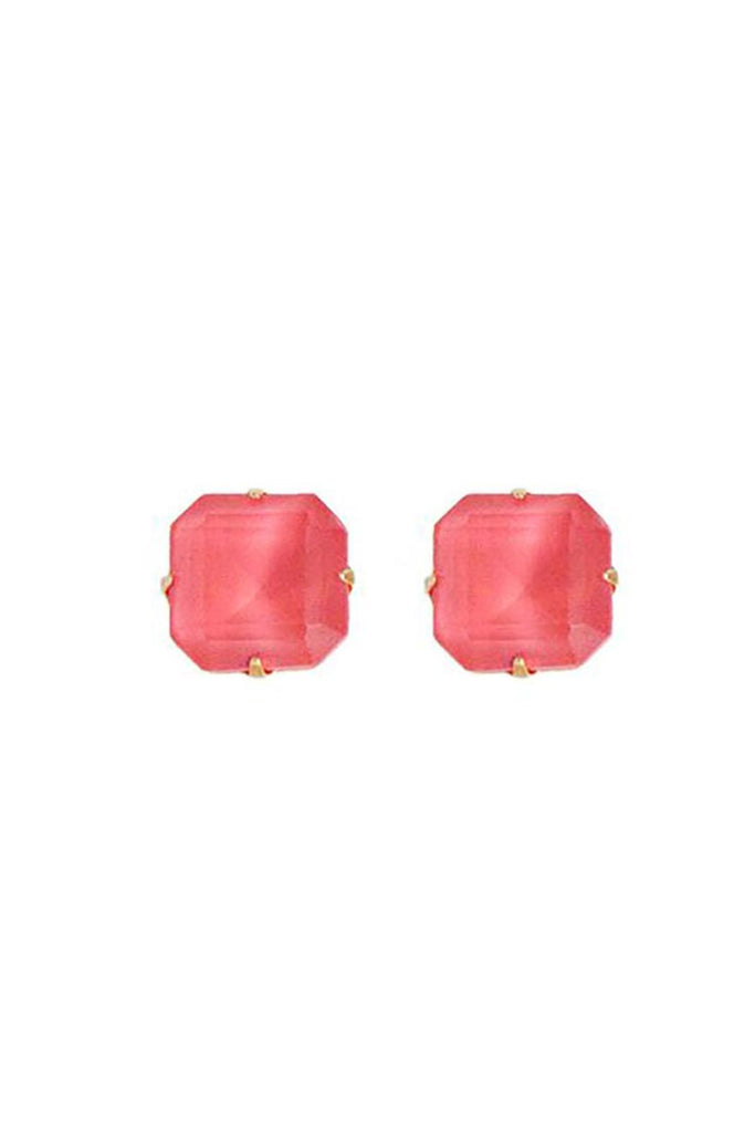 Loren Hope Sophia Studs - Coral - Ship Chic