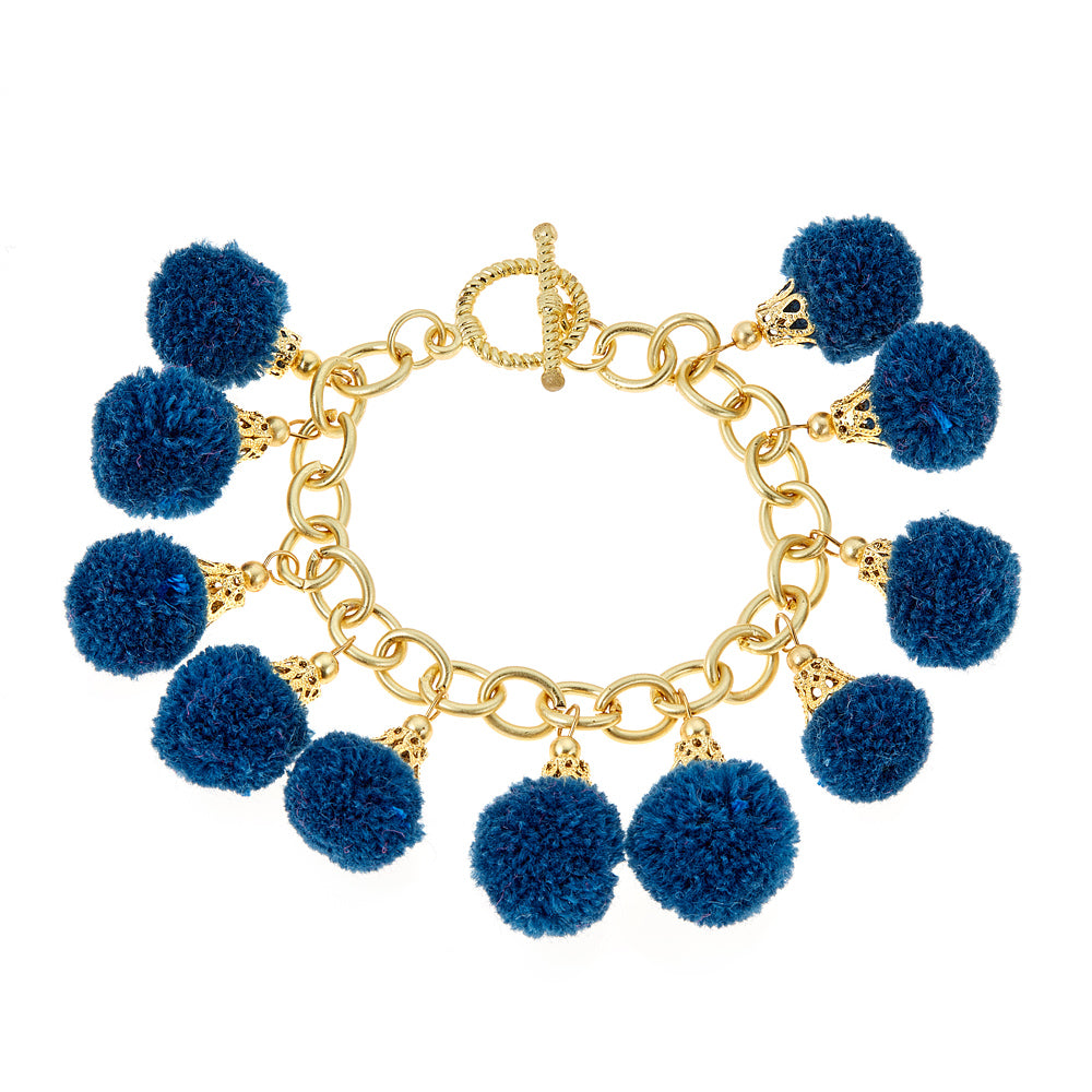 Fornash Fiesta Bracelet - Navy - Ship Chic