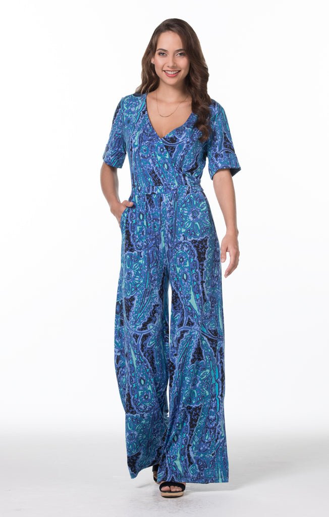 Tori Richard Around the Block Wren Jumpsuit - Ship Chic