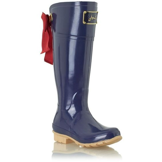 Joules Evedon Premium Wellies - French Navy - Ship Chic
