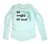 Boaters Republic Be Coastal L/S - W Performance Seafoam - Ship Chic