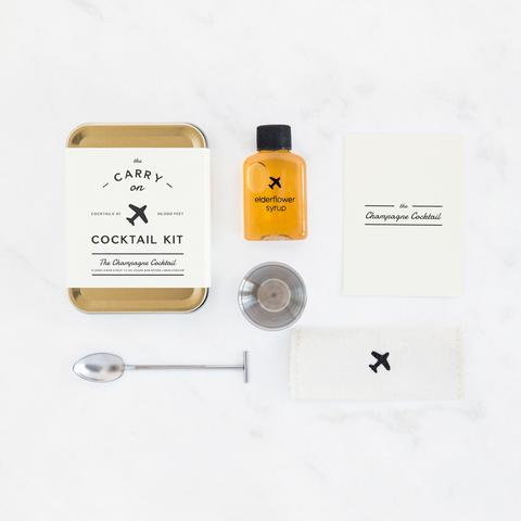 W&P Design Carry On Cocktail Kit Champagne - Ship Chic