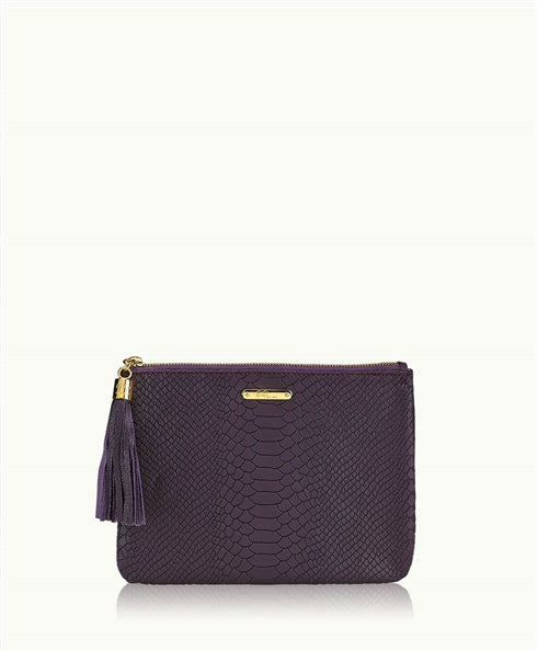 GiGi New York All in One Bag in Blackberry - Ship Chic