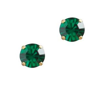 Loren Hope Kaylee Studs - Emerald - Ship Chic