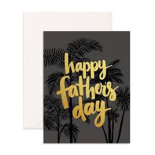 Fox & Fallow Happy Father's Day Palms - Ship Chic