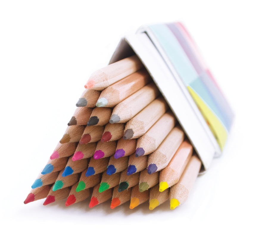 International Arrivals The Triangle Colored Pencils Set of 36 - Ship Chic