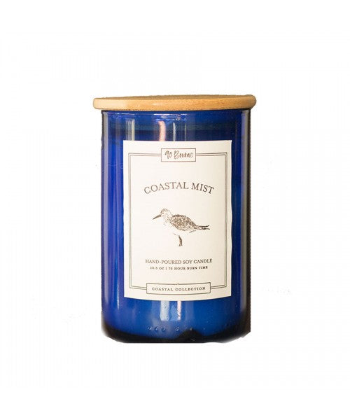 90 Bourne 10oz. Soy Candle - Coastal Mist - Ship Chic